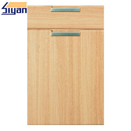 Good Quality Shaker Kitchen Cabinet Doors & Flat MDF Kitchen Cabinet Doors Wood Grain With 450*678mm Size , OEM Service on sale