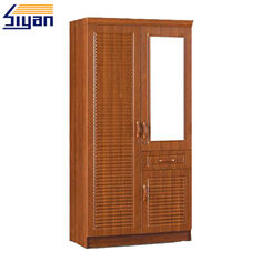 Good Quality Shaker Kitchen Cabinet Doors & Bedroom Furniture Shutter Style Wardrobe Doors PVC Surface OEM ODM Service on sale