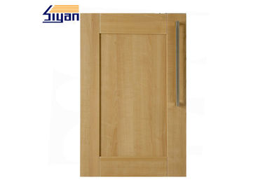Shaker kitchen cabinet doors on sales quality shaker kitchen wood grain shaker kitchen cabinet doors 458688mm with pvc film wrapped eventshaper