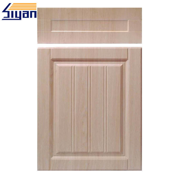 Plastic Panels Shaker Style Cupboard Doors Wood Grain