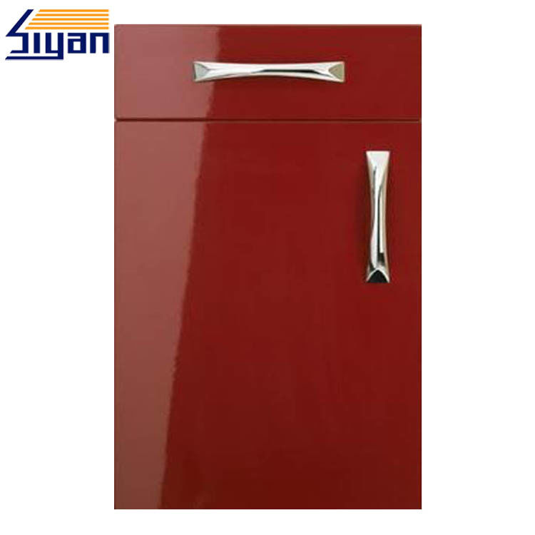 fashional red gloss kitchen cabinet doors high gloss kitchen doors