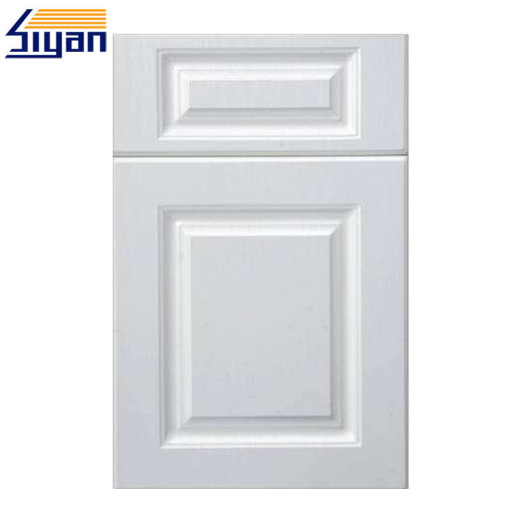 Elegant White Mdf Kitchen Cabinet Doors Replacement With