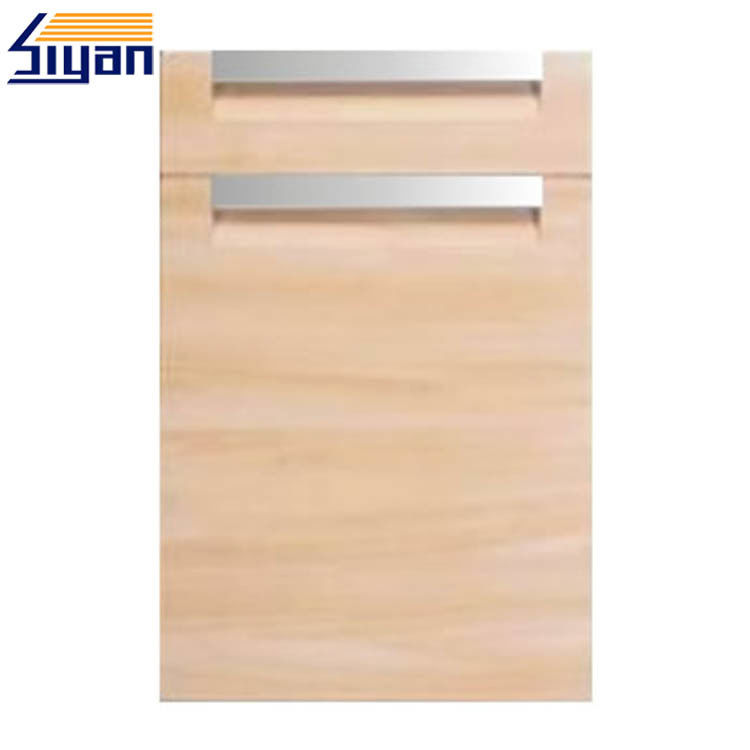 Flat Shaker Kitchen Cabinet Doors Wooden Laminated Replacement