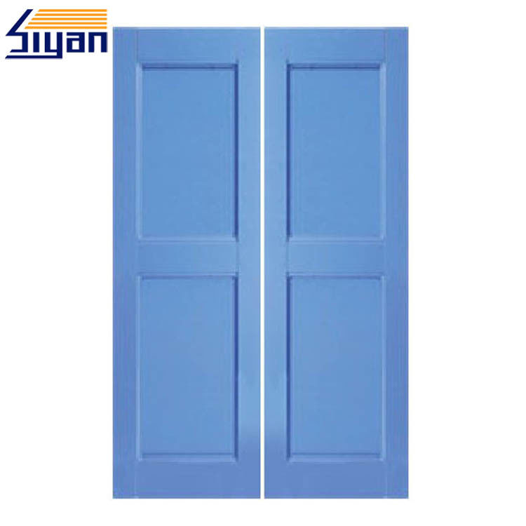 Custom Wood Closet Doors , Bifold Cupboard Doors For Bedroom Cabinet