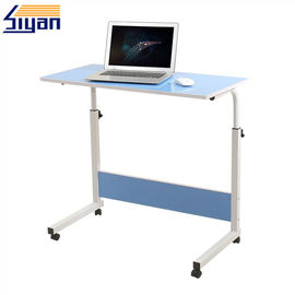 China Bule Adjustable Table Top Portable For Computer Table , Glossy/ Matte Surface factory