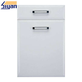 China Professional Custom MDF Kitchen Cupboard Doors For Cabinet , Cold White Color factory