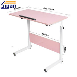 China European Tyle Pink Adjustable Table Top 15mm-25mm Thickness , 1 Year Warranty factory