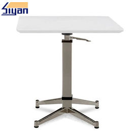China 500*620mm Adjustable Table Top For Office Working Desk , White Color factory