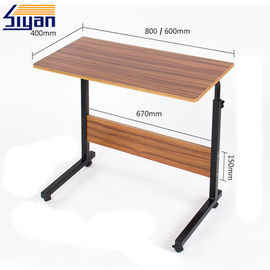China Brown Dining Room Table Top Adjustable Wood Grain With Free Sample factory