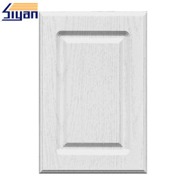 European White Classic Cabinet Doors MDF Board With PVC Film Surface