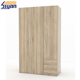 Modern Replacement Fitted Wardrobe Doors For Wooden Furniture , 18mm Thickness