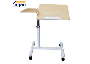 Multi Purpose Overbed Table Swivel Top For Hospital Table , CARB2 Standard