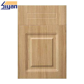 Thermofoil Replacement Pvc Kitchen Cabinet Doors With MDF Fiberboard
