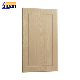China Pvc Moulded Replacement Kitchen Unit Doors , Bathroom Laminate Cabinet Doors factory